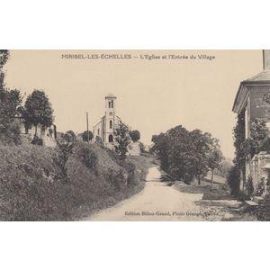 Miribel église entrée Billon-Grand   -photo de Grange