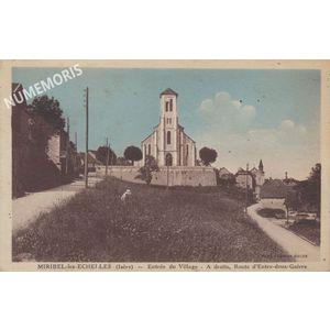 Miribel église 1935