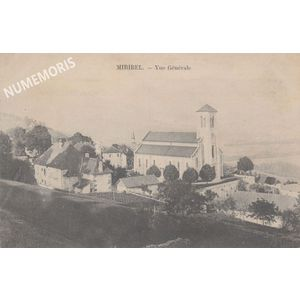 Miribel église photo1905 AMM