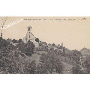 Miribel-les-Echelles  vue générale  Côté Ouest 1929