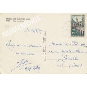 Miribel-les-Echelles vue générale 1959   2