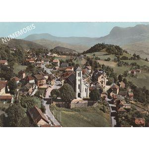 Miribel-les-Echelles vue aérienne 1970
