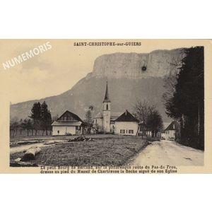 Saint Christophe sur Guiers-berland 1944