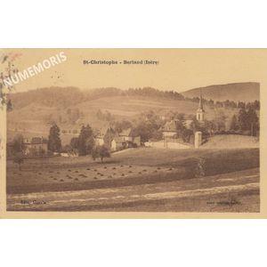 Saint Christophe sur Guiers-berland 1949