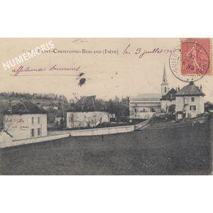 Saint Christophe sur Guiers-Berland 1906