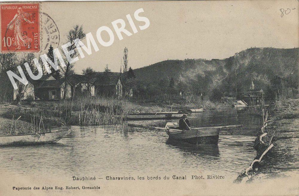 Charavines cartes postales