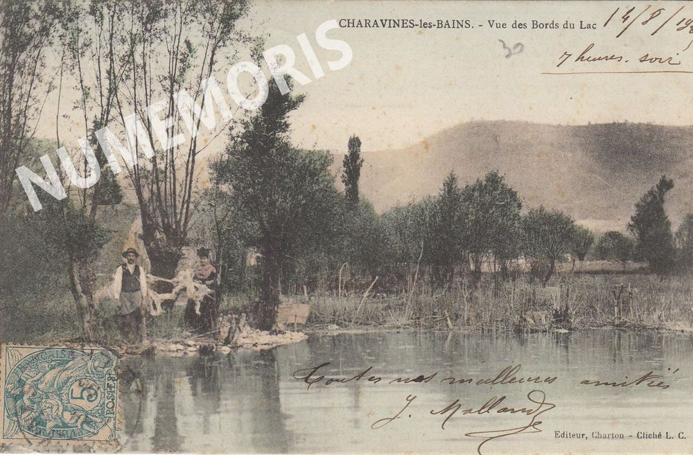 Charavines cartes postales