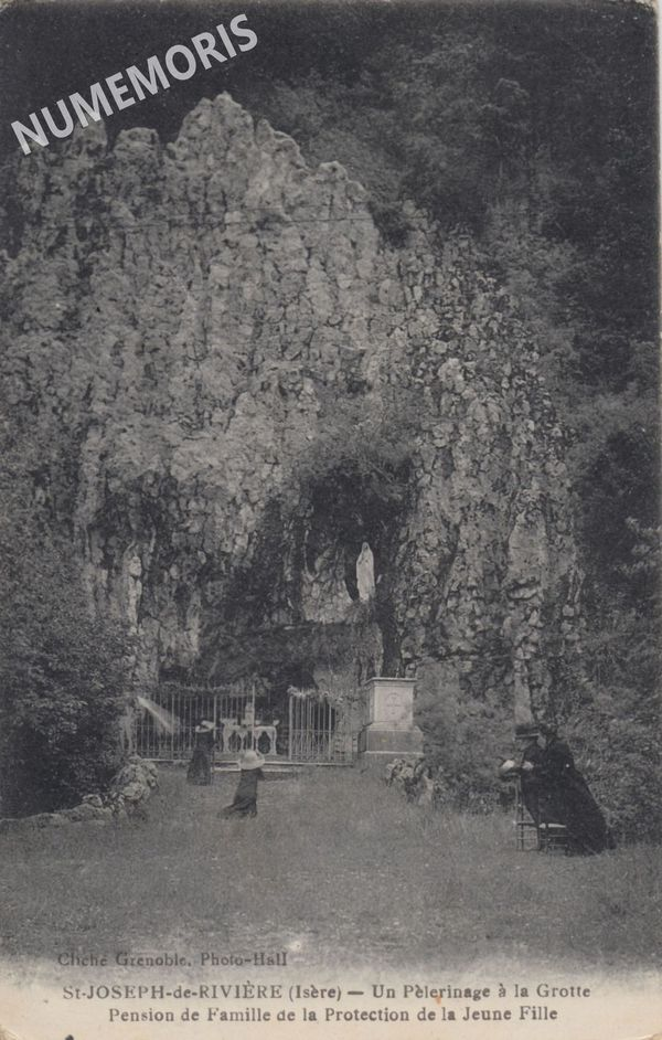 Saint Joseph protectionJeuneFille grotte AMM