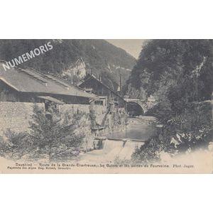 Grande Chartreuse Fourvoirie les usines et le Guiers
