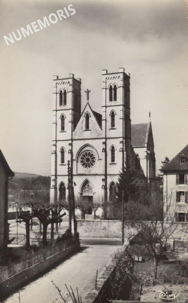 Saint Laurent du Pont- Eglise- recto