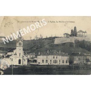 Reaumont eglise mairie chateau