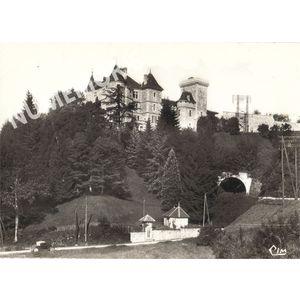 Réaumont le chateau et le tunnel