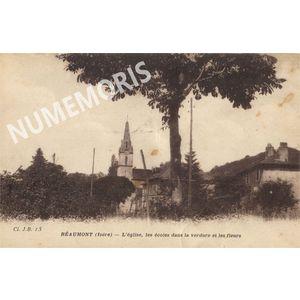 Réaumont église et école