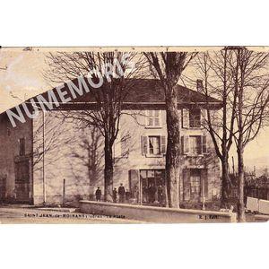 La Poste à Saint-Jean-de-Moirans  J.Boffard
