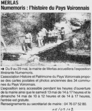 Numemoris : l'histoire du Pays Voironnais