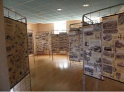 l'expo est à la mairie de Saint Blaise du Buis