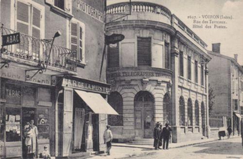 La Poste de Voiron en 1907