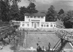 la piscine de Voiron en 1954