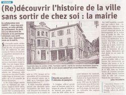 Ancienne Mairie de Voiron en 1790